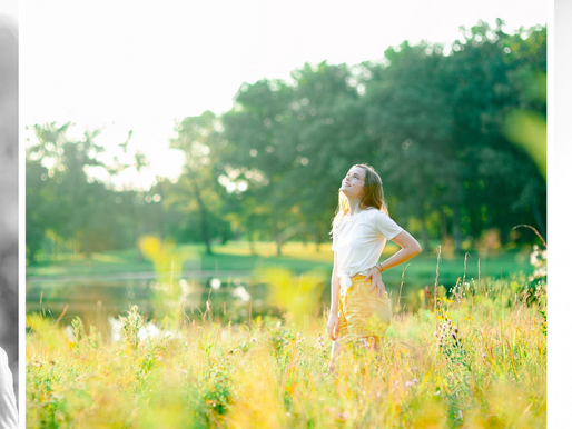 Marli   A Sunny Senior Session in Fairfield, IL   St. Louis Photography