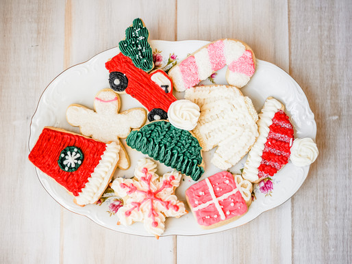 Christmas Cookies | Erica Krauss Cookies in Maryville, IL | St. Louis Photography
