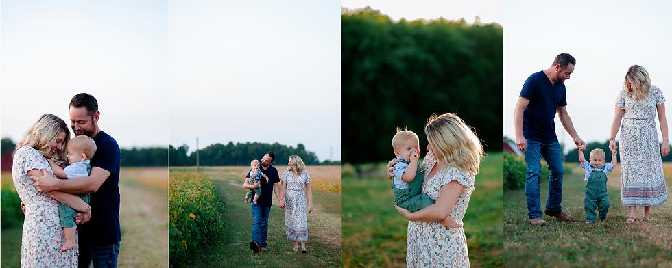 Family Portraits at the Farm.