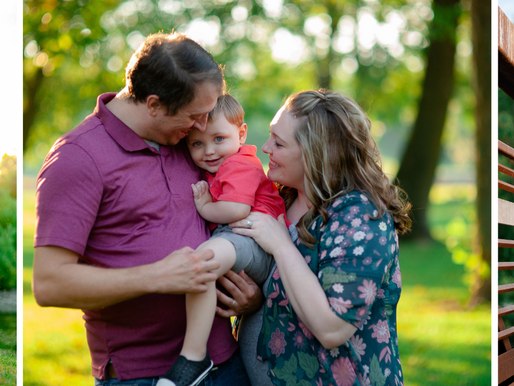 The Gruenewalds | A Carlyle Lake Family Session at the General Dean Bridge | Carlyle, Illinois