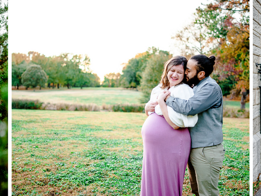 Michelle + Thomas   Maternity Session at Tower Grove Park in St. Louis, MO   St. Louis Photography