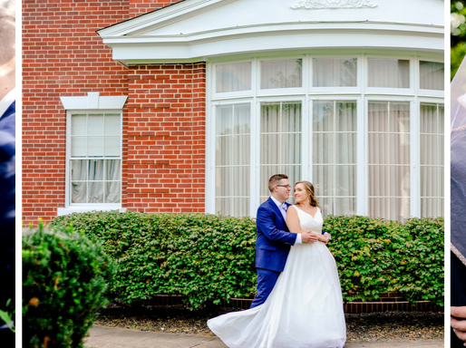 The Marshalls   Navy & Dusty Blue Wedding in Springfield, MO   St. Louis Photography