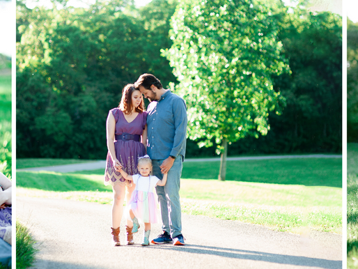 The Hart Family | A Spring Family Session at Konarcik Park in Waterloo, IL | St. Louis Photography