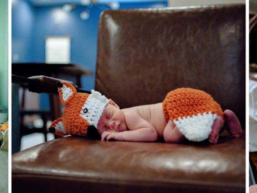 "Baby Finn | A ""Foxy"" Lifestyle Newborn Session | St. Louis, Missouri"