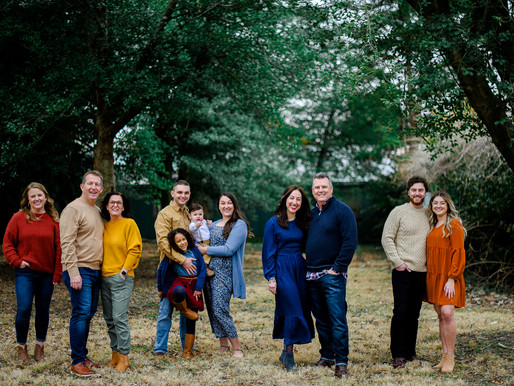 the Peters Family | An Extended Family Session at Tower Grove Park | St. Louis, MO