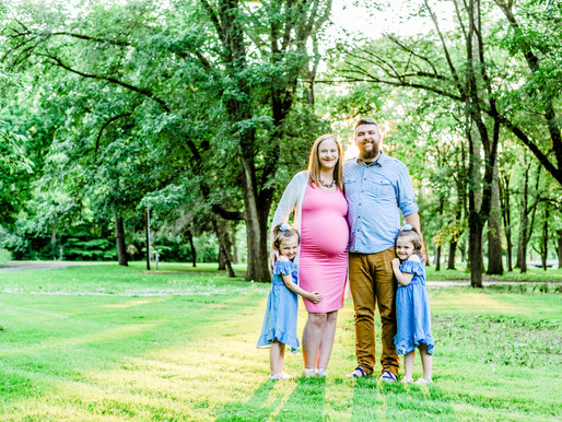The Peters Family   Maternity Portraits in Kokomo, IN   St. Louis Photography