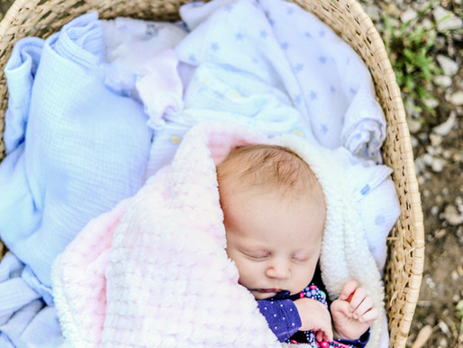 Baby Zoey | Newborn Portraits in Mount Carmel, IL | St. Louis Photographer