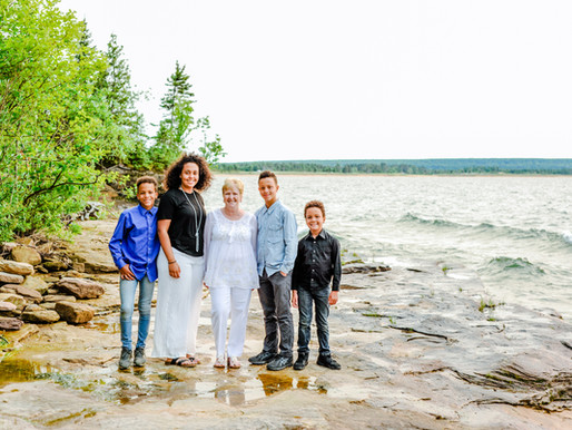 The Bland Kids & MawMaw   Family in the UP of Michigan   Traveling Moments   St. Louis Photography