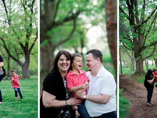 the Gamblins | a family session at the Victorian Footbridge in Forest Park | St. Louis, Missouri