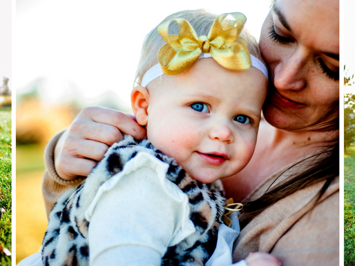 Baby Cameryn | 12 Month Milestone Session in Dix, IL | St. Louis Photography