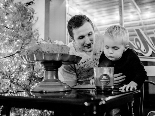 The Webers | 3rd Birthday Party & Gender Reveal in Freeburg, IL | St. Louis Photography
