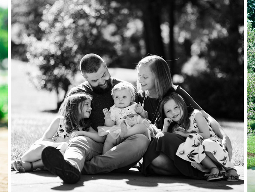 Baby Blythe | a Sunny 12 Month Milestone Session in Terre Haute, IN | Laura Hocking Photography