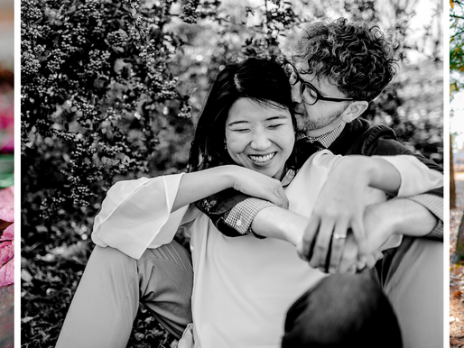 Kevin + Su Yi | Engagement Portraits in EXPO Park of Daejeon, South Korea | St. Louis Photography