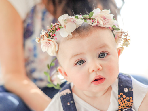 Baby Paisley |  6 Month Milestone |  St. Louis Family Photography | Laura Hocking Photography