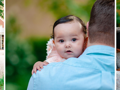 Baby Myla | 3 Month Milestone at the Historic St. Charles, MO | St. Louis Photography
