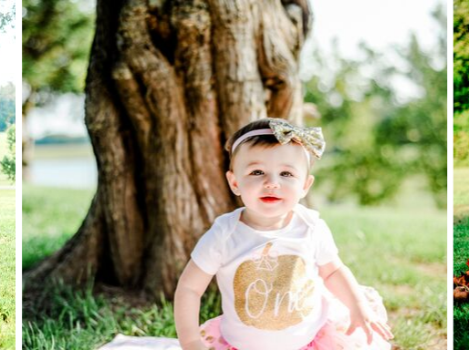 Baby Paisley | 12 Month Milestone Session in Waterloo, IL  | St. Louis Photography