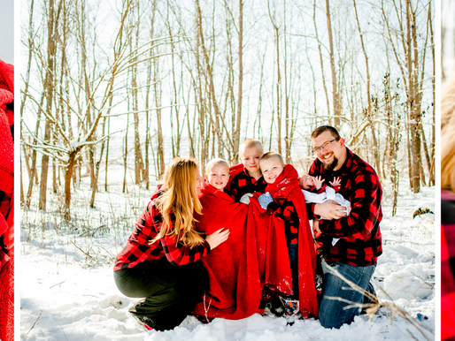 The Engels | Family Session at Rivers Edge Park in Chesterfield, MO | St. Louis Photography
