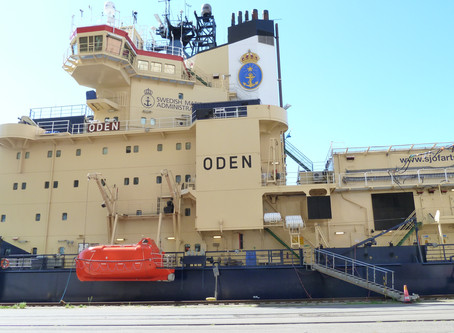 Polar Research vessel Oden gets a ZachTek WSPR transmitter.