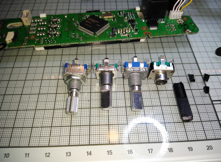 Sunday repair - Broken knob on brand new FT-857D Transceiver.