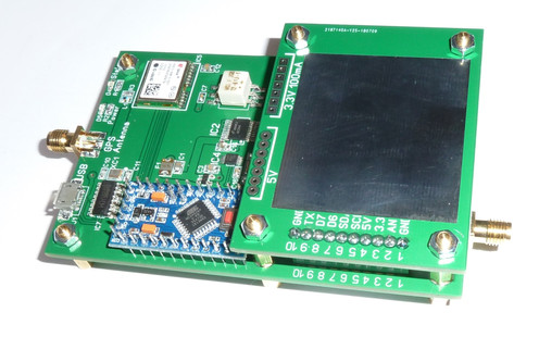Mezzanine experiment PCBs  Add-on for WSPR-TX_LP1