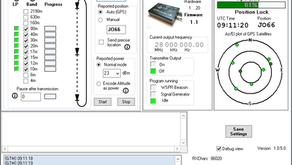 New WSPR TX Desktop model. 80To10