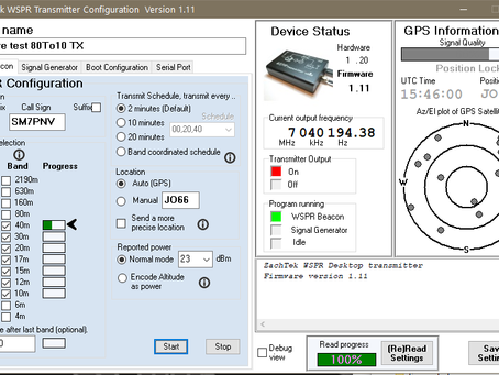 New features in firmware and Software version 1.10