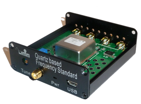 Two new products. Frequency Standard and Calibrator.