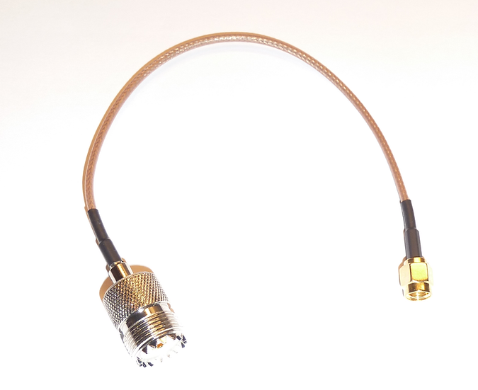 SMA to SO239 pigtail cable