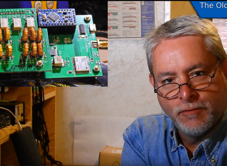 Video on the WSPR-TX_LP1 with the Mezzanine LP4 add-on card.