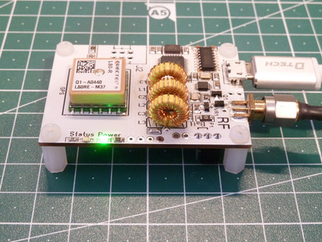 WSPR Mini - the new small WSPR transmitter that can run from a LiPo battery.
