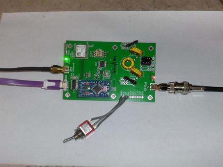 VK3KHZ modifes the WSPR-TX_LP1 to dual band transmitter.