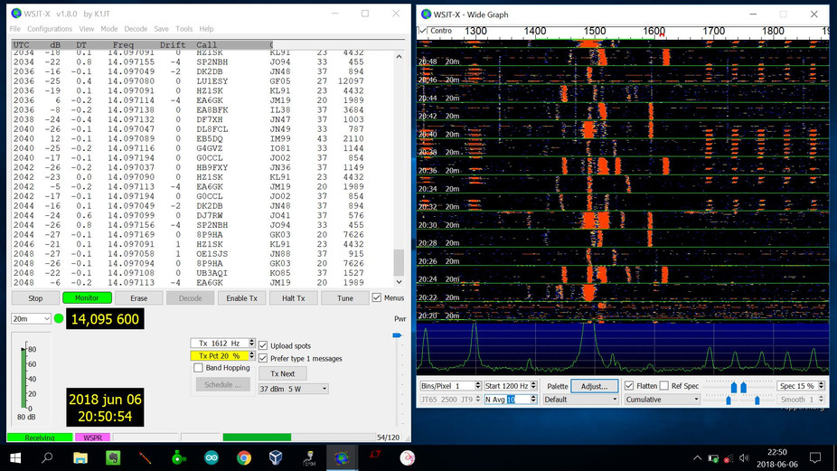 First WSPR-RX Customer put the Receiver to work with good