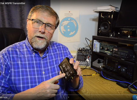 Video review of the WSPR Desktop transmitter