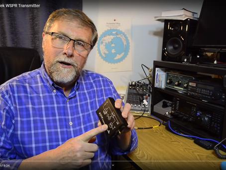 Video review of the WSPR Desktop transmitter
