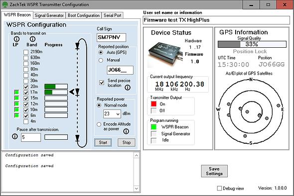 ZachTek WSPR Software version 1.00.png