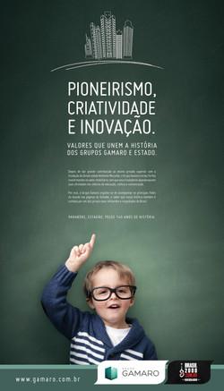 Gamaro - Parabéns, Estadão