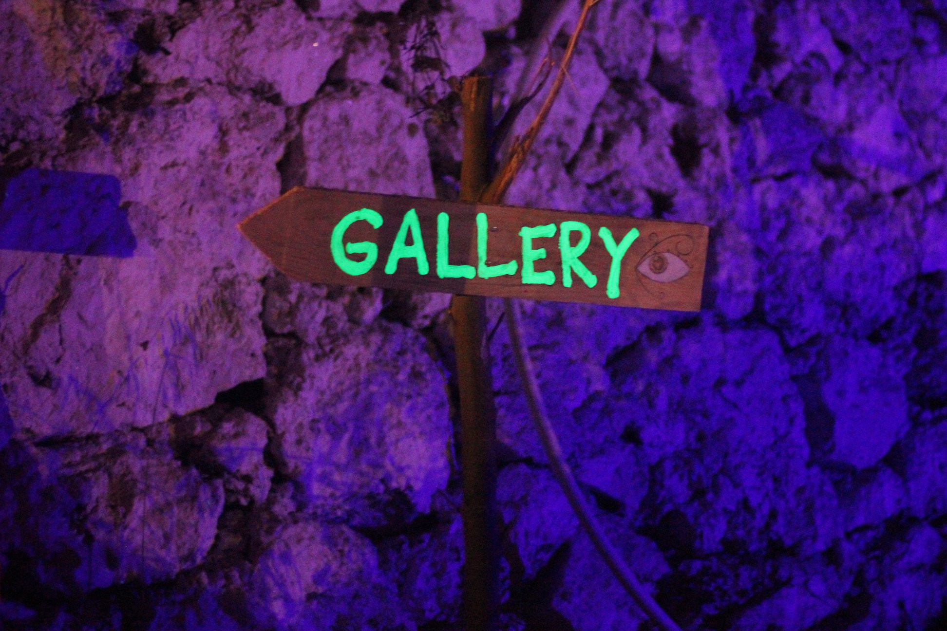 Gallery Sign from Event