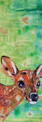 Bic Beaumont Art_Meadow the fawn deer_or