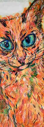 Bic Beaumont Art_Morris the cat_original