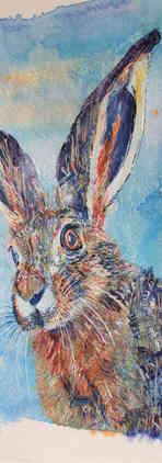 Bic Beaumont Art_Luna the hare_original