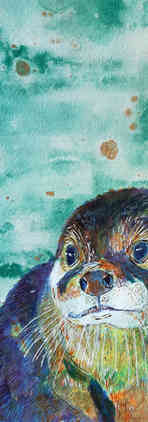 Bic Beaumont Art_Bray the otter_original