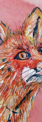 Bic Beaumont Art_Pandora the Fox_origina