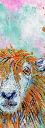 Bic Beaumont Art_David the Sheep_origina