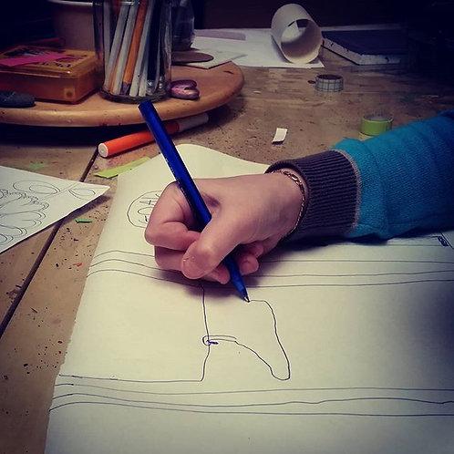 Atelier de dessin pour ceux qui ne savent pas dessiner/Abo 4 séances