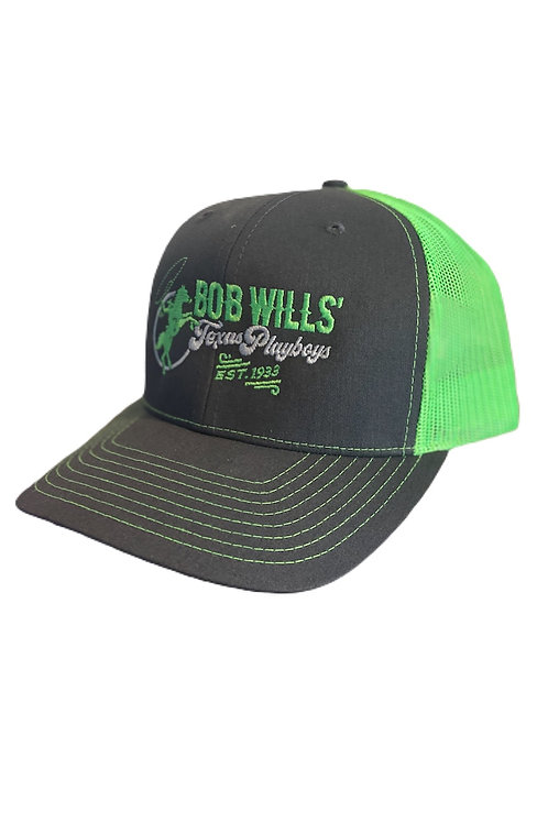 Cap (Lime Green and Gray)