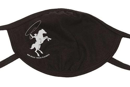 FaceMask w/Bob Wills' Texas Playboys Logo