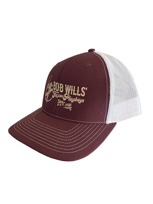 Cap (Maroon and White)