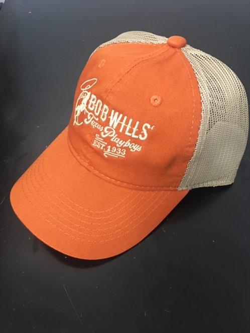 Cap (Burnt orange and tan)