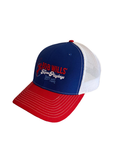 Cap (Red, White & Blue)