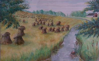 Harvest on the Other Side of the Woods_ by J N Salsburey